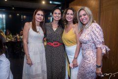 Lorena Pouchain, Neuza Rocha, Márcia Andréa e Erika Queiroz