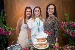 Lorena Pouchain, Sarah Philomeno e Neuza Rocha