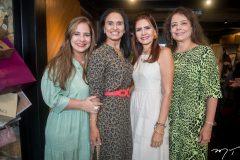Martinha Assunção, Neuza Rocha, Lorena Pouchain e Claudia Gradvohl