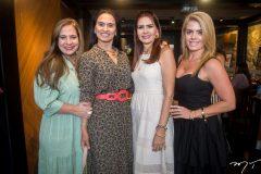 Martinha Assunção, Neuza Rocha, Lorena Pouchain e Letícia Studart