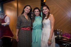 Neuza Rocha, Monaliza Cavalcante e Lorena Pouchain