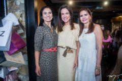 Neuza Rocha , Ana Virgínia Martins e Lorena Pouchain