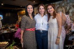 Neuza Rocha, Euvladia Fontenele e Lorena Pouchain