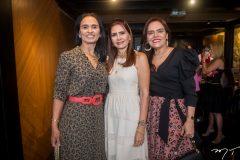 Neuza Rocha, Lorena Pouchain e Cláudia Gradvohl