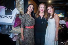 Neuza Rocha, Luiziane Cavalcante e Lorena Pouchain