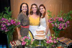 Neuza Rocha, Márcia Andréa e Lorena Pouchain