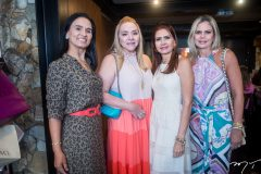 Neuza Rocha, Sandra Fujita, Lorena Pouchain e Laila Fujita