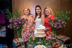 Vera Costa, Lorena Pouchain e Betinha Pessoa