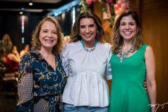 Angela Cunha, Márcia Travesoni e Carol Bezerra