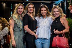 Karmilse Marinho, Michele Aragão, Márcia Travessoni e Lilian Porto