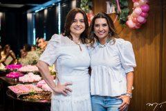 Lia Freire e Márcia Travessoni