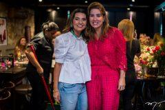 Márcia Travessoni e Ana Vládia Sales