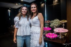 Márcia Travessoni e Lorena Pouchain