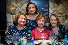 Maria Vital, Etel Rios, Tane Albuquerque e Angela Cunha