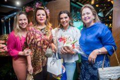 Marize Castelo Branco, Sandra Lazera, Márcia Travessoni e Nanete Castelo Branco