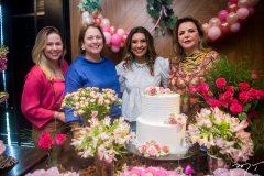 Marize, Nanete Castelo Branco, Márcia Travessoni e Sandra Lazera