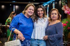 Nanete Castelo Branco, Márcia Travessoni e Etel Rios