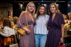 Sandra Fujita, Márcia Travessoni e Ailsa Ventura