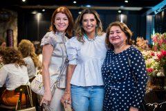 Suzane Farias, Márcia Travessoni e Maria Vital