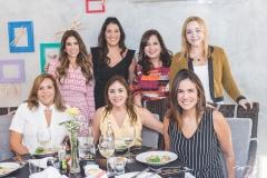 Ailza Ventura, Rafaela Otoch, Cristiane Faria, Elisa Oliveira, Martinha Assunção, Ana Virgínia Martins e Sandra Fujita