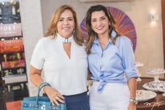 Ailza Ventura e Márcia Travessoni