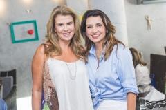 Alexandra Pinto e Márcia Travessoni