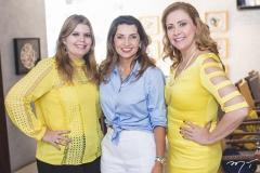 Danielle Pinheiro, Márcia Travessoni e Andréa Delfino