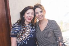 Gina Pompeu e Euwlaudia Fontenele