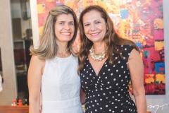 Hélida Escóssia e Rose Batista