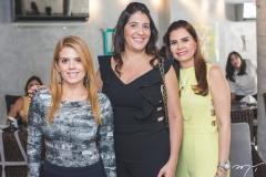 Letícia Studart , Elisa Oliveira e Lorena Pouchain