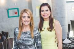 Letícia Studart e Lorena Pouchain