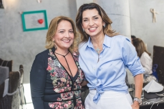 Liana Thomaz e Márcia Travessoni