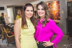 Lorena Pouchain e Eveline Fujita