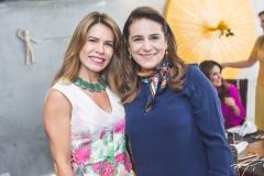 Maira Silva e Patrícia Macedo