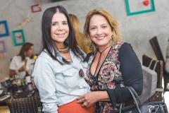 Maria Lúcia Negrão e Liana Thomaz