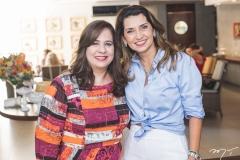 Martinha Assunção e Márcia Travessoni
