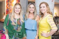 Morgana Dias Branco, Célia Magalhães e Andréa Delfino