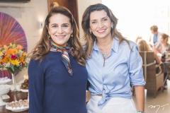 Patrícia Macedo e Márcia Travessoni