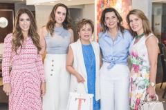 Rafaela Otoch, Roberta Nogueira, Tane Albuquerque, Márcia Travessoni e Maira Silva