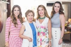 Rafaela Otoch, Tane Albuquerque, Maira Silva e Roberta Nogueira