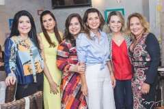 Sellene Câmara, Lorena Pouchain, Martinha Assunção, Márcia Travessoni, Lilian Porto e Liana Thomaz