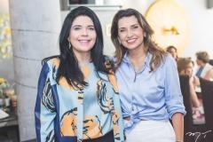 Sellene Câmara e Márcia Travessoni