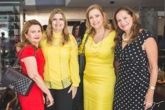 Sônia Praça, Danielle Pinheiro, Andréa Delfino e Rose Batista