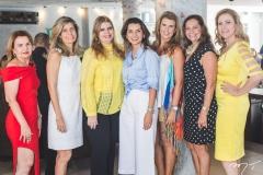 Sônia Praça, Hélida Escóssia, Danielle Pinheiro, Márcia Travessoni, Alexandra Pinto, Rose Batista e Andréa Delfino