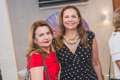 Sônia Praça e Rose Batista