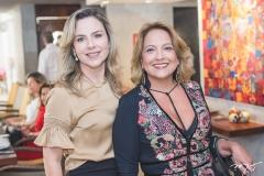 Suyane Dias Branco e Liana Thomaz
