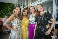 Adriana Queiroz, Martinha Assunção, Suyane Dias Branco e Paula Barreira