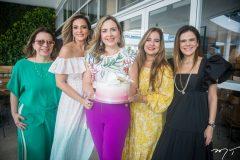 Ana Zélia, Michelle Aragão, Suyane Dias Branco, Martinha Assunção e Niedja Bezerra