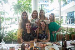 Martinha Assunção, Suyane Dias Branco, Michelle Aragão, Ana Zélia, Paula Barreira e Taís Pinto