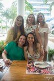 Martinha Assunção, Suyane Dias Branco, Michelle Aragão,  Ana Zélia e Adriana Queiroz